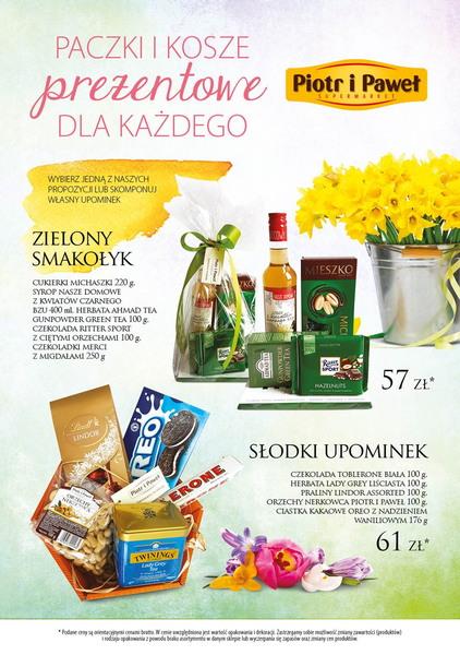 Piotr i Paweł gazetka promocyjna od 2017-03-20, strona 1