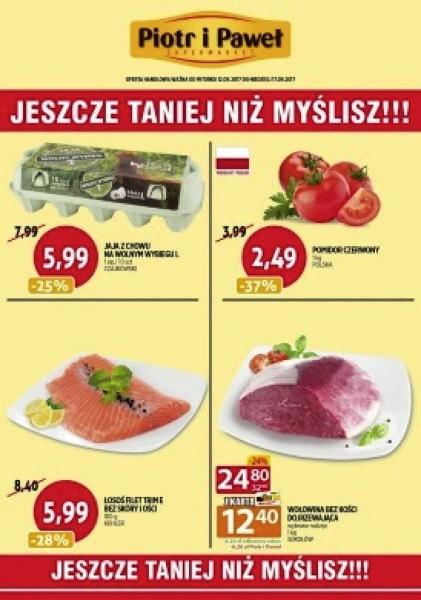 Piotr i Paweł gazetka promocyjna od 2017-09-12, strona 1