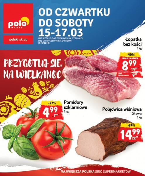 POLOmarket gazetka promocyjna od 2018-03-15, strona 1