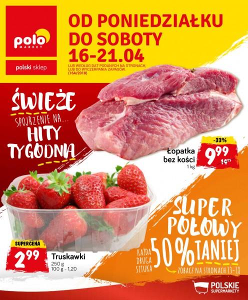 POLOmarket gazetka promocyjna od 2018-04-16, strona 1