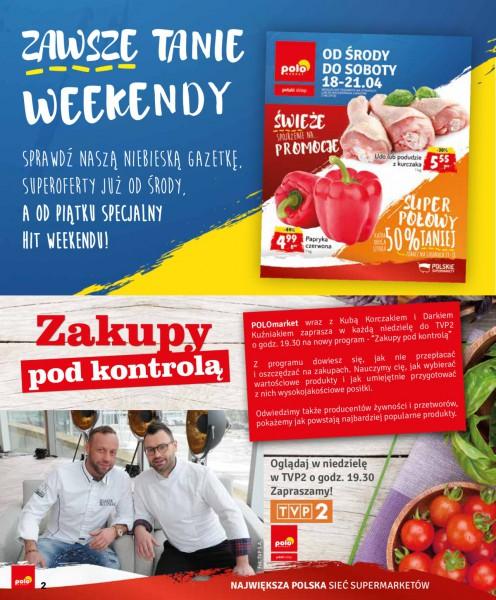 POLOmarket gazetka promocyjna od 2018-04-16, strona 2
