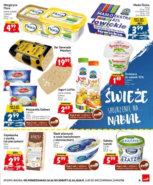 POLOmarket gazetka promocyjna od 2018-04-16, strona 9