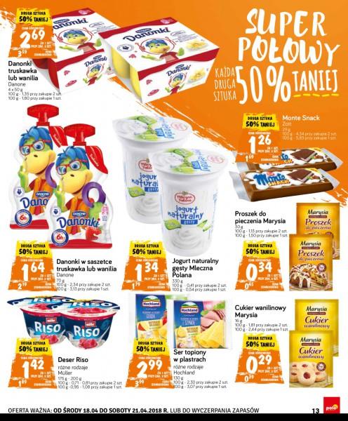 POLOmarket gazetka promocyjna od 2018-04-18, strona 13