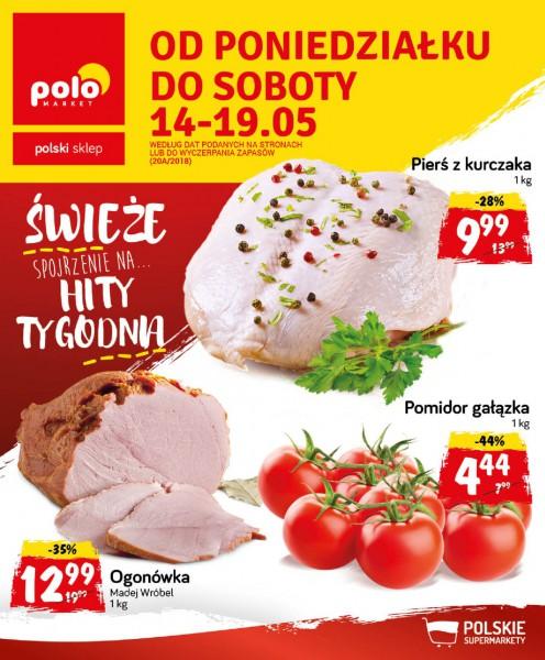 POLOmarket gazetka promocyjna od 2018-05-14, strona 1