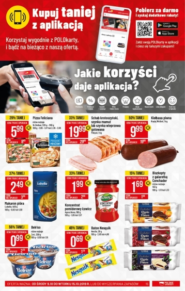 POLOmarket gazetka promocyjna od 2019-10-09, strona 15
