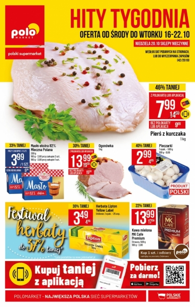 POLOmarket gazetka promocyjna od 2019-10-16, strona 1