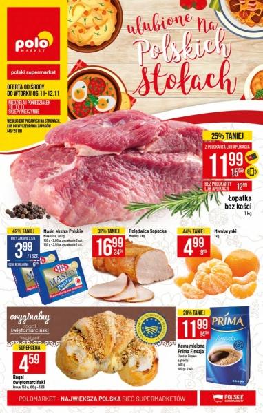 POLOmarket gazetka promocyjna od 2019-11-06, strona 1