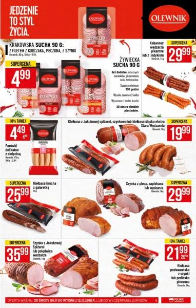 POLOmarket gazetka promocyjna od 2019-11-06, strona 5