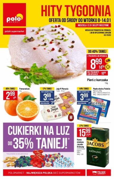 POLOmarket gazetka promocyjna od 2020-01-08, strona 1
