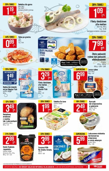 POLOmarket gazetka promocyjna od 2020-01-08, strona 9