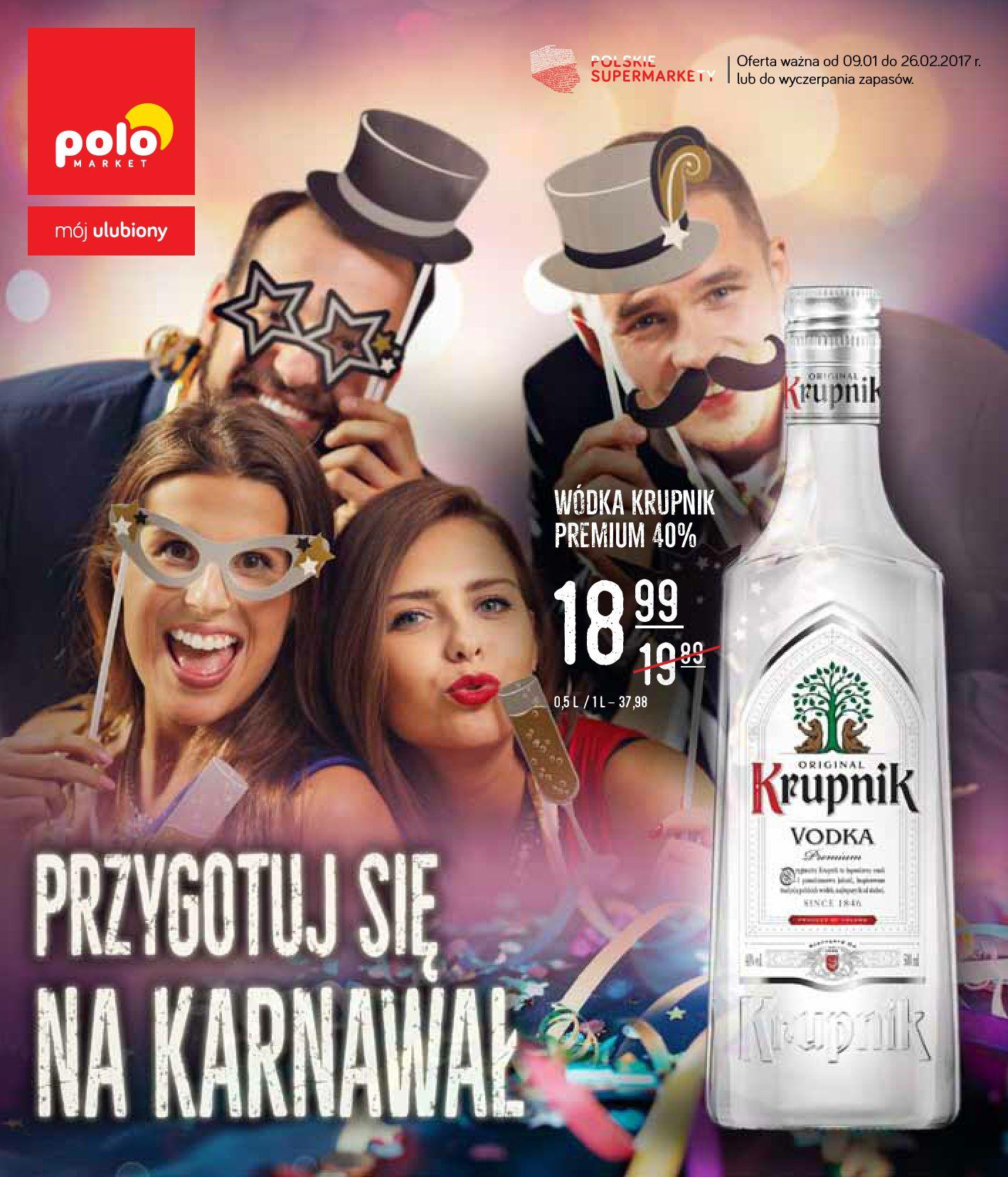 POLOmarket gazetka promocyjna od 2017-01-09, strona 1