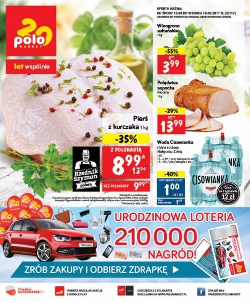 POLOmarket gazetka promocyjna od 2017-09-13, strona 1