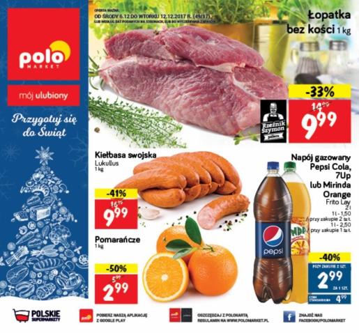 POLOmarket gazetka promocyjna od 2017-12-06, strona 1