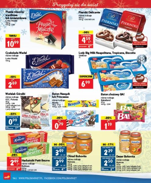 POLOmarket gazetka promocyjna od 2017-12-06, strona 14