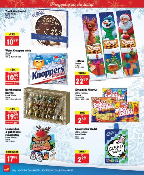 POLOmarket gazetka promocyjna od 2017-12-06, strona 16