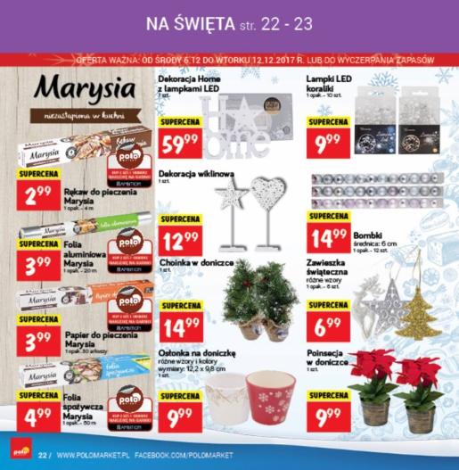 POLOmarket gazetka promocyjna od 2017-12-06, strona 22