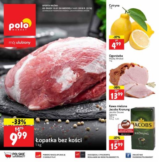 POLOmarket gazetka promocyjna od 2018-01-10, strona 1