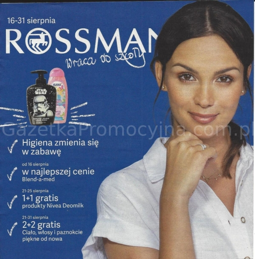 Rossmann gazetka promocyjna od 2019-08-16, strona 1