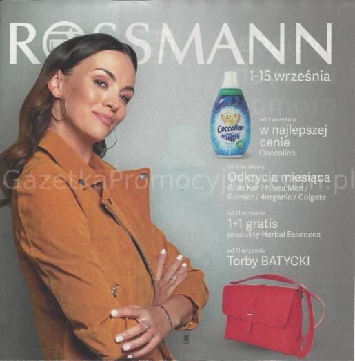 Rossmann gazetka promocyjna od 2019-09-01, strona 1
