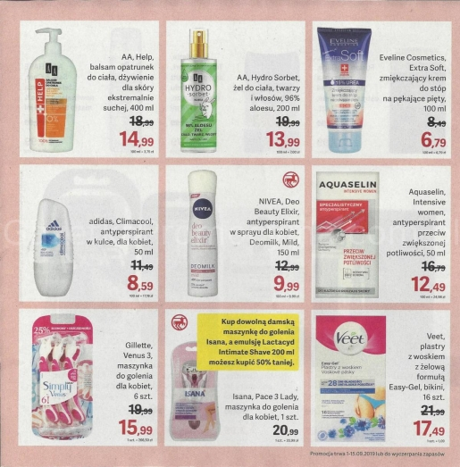 Rossmann gazetka promocyjna od 2019-09-01, strona 14