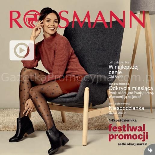 Rossmann gazetka promocyjna od 2019-10-01, strona 1