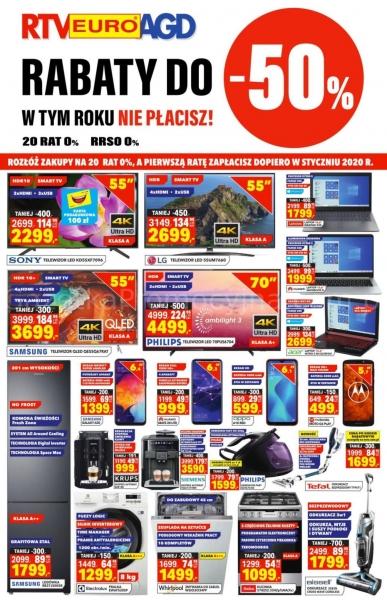 Rtv Euro Agd gazetka promocyjna od 2019-08-30, strona 1