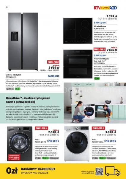 Rtv Euro Agd gazetka promocyjna od 2019-08-30, strona 21