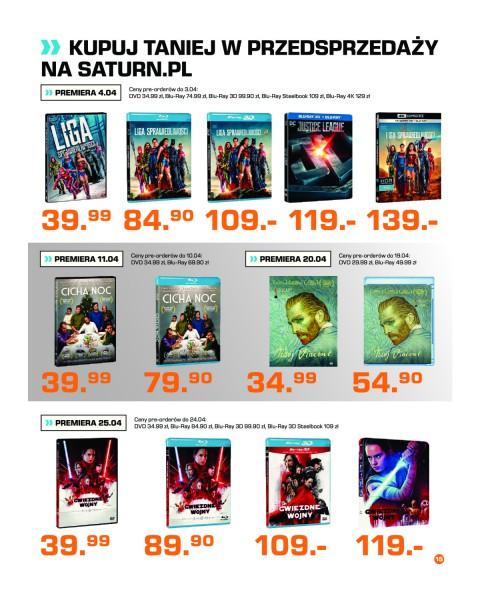 Saturn gazetka promocyjna od 2018-04-01, strona 15