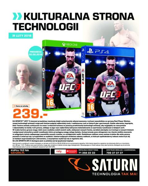 Saturn gazetka promocyjna od 2018-02-01, strona 1