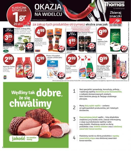Stokrotka gazetka promocyjna od 2018-03-08, strona 6