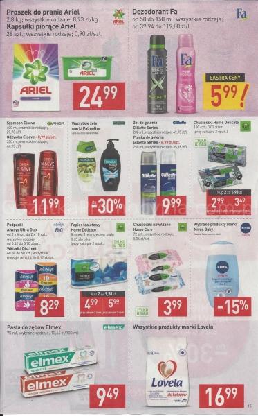Stokrotka gazetka promocyjna od 2019-09-05, strona 15