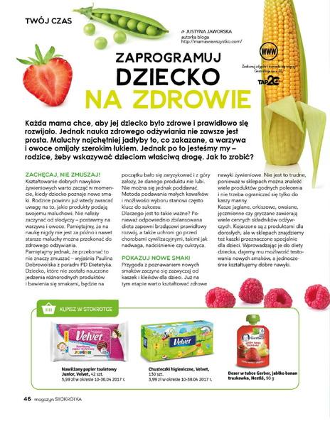 Stokrotka gazetka promocyjna od 2017-03-09, strona 46