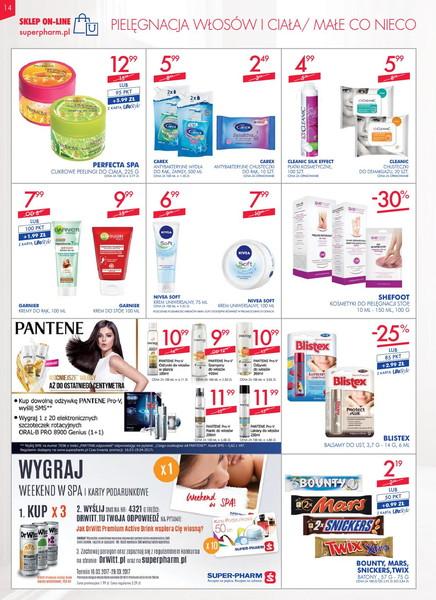 Super-pharm gazetka promocyjna od 2017-03-16, strona 14
