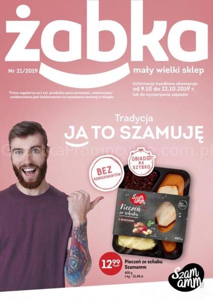 Żabka gazetka promocyjna od 2019-10-09, strona 1